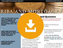 Riba and Mortgages - 20 Commonly Asked Questions